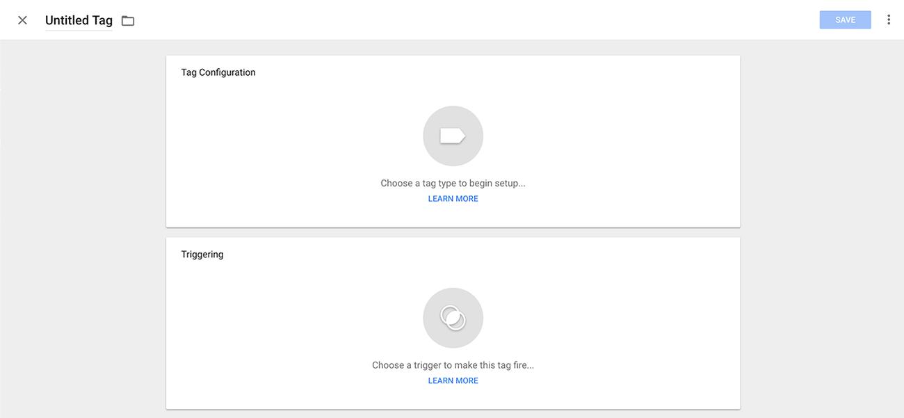 创建Google跟踪代码管理器帐户的步骤3创建代码